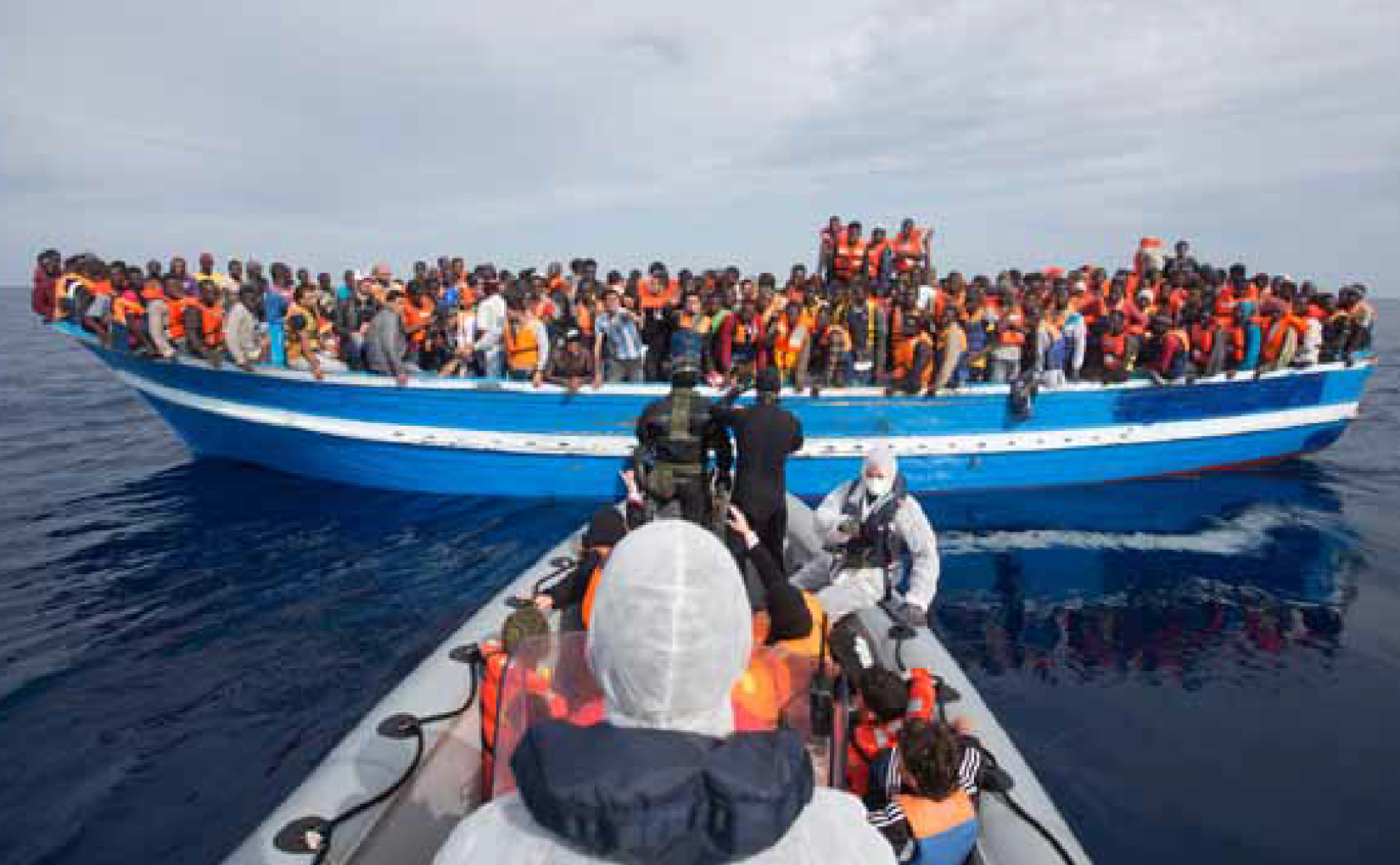 EU reacts as 1,300 drown in 14 days