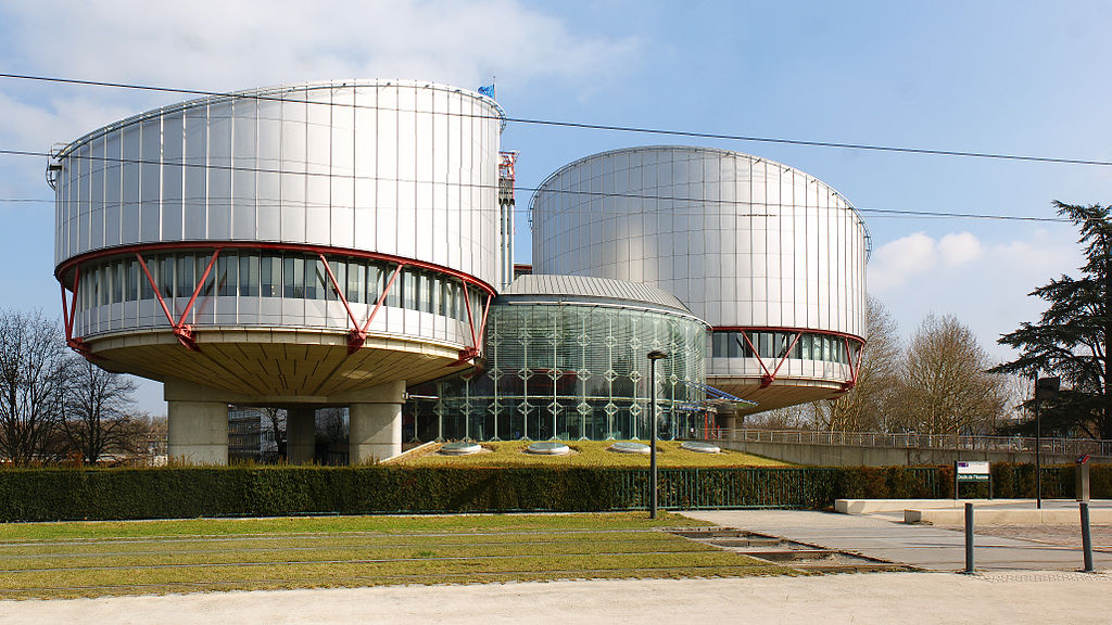 Photo of the ECHR by Wikipedia user CherryX, click for info.