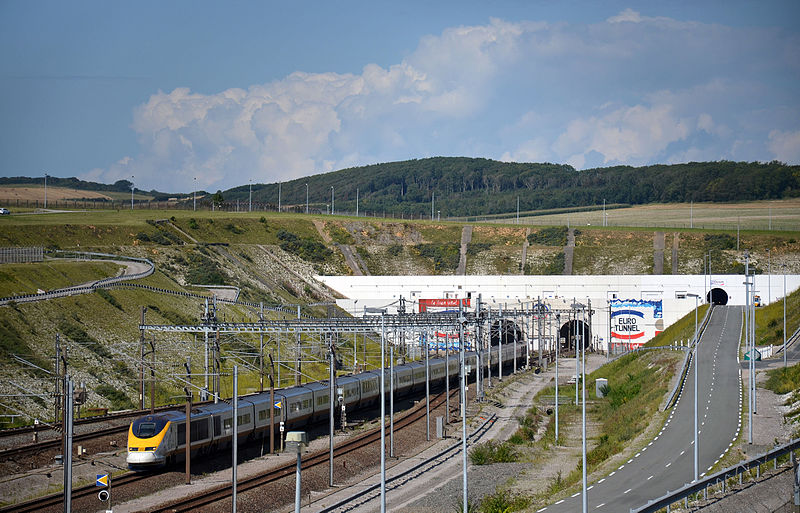 Channel Tunnel entrance