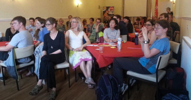 Audience at Womens Cycle Forum