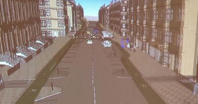 CGI of Victoria Road design