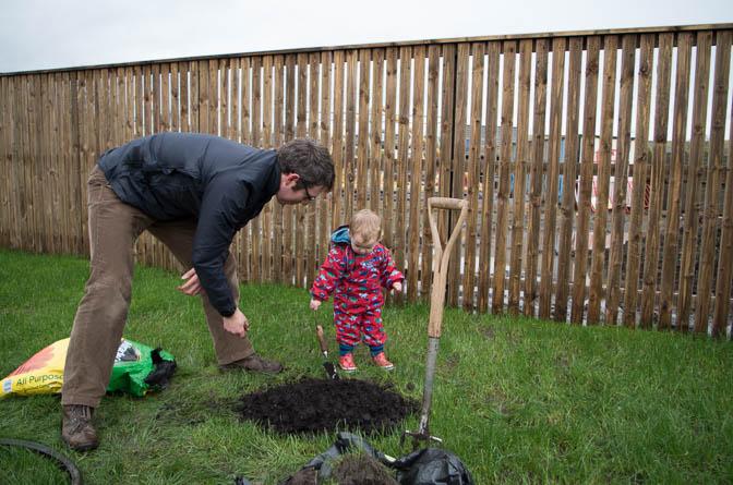 Building a compost heap