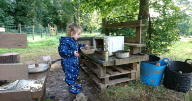 Greenbank Woodland Play outdoor playgroup